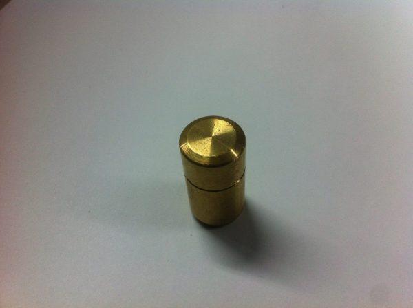 Hep2O Blanking plug brass