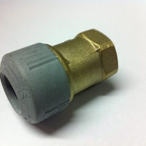 Hep2O Polybutylene / Brass female adapter