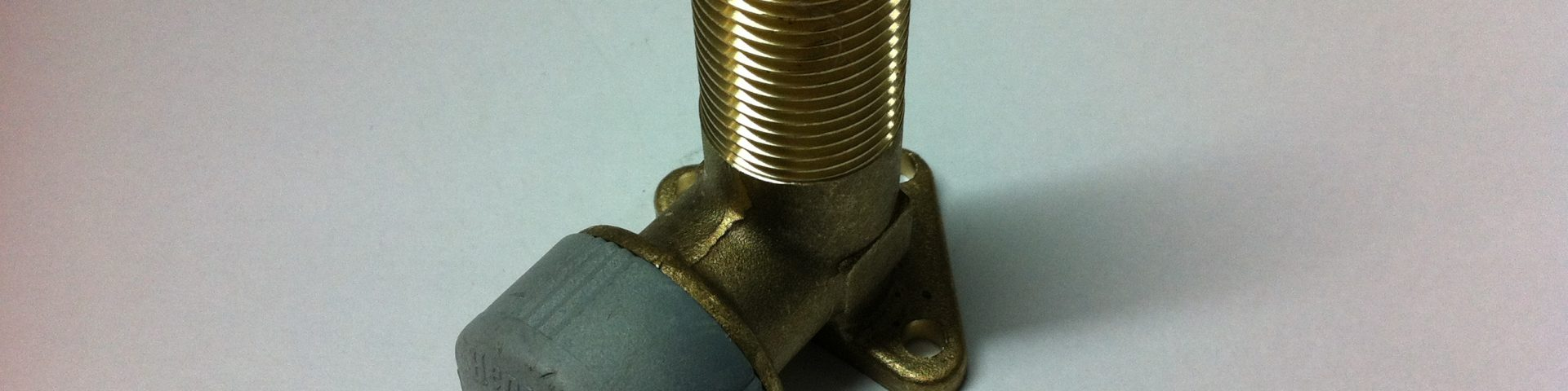 Hep2O WALL ELBOW, EXTENDER M.I. BRASS