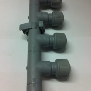 Hep2o 5 port  manifold with elbow end 1