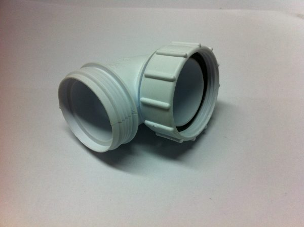 32 mm HepVo Knuckle Bend Adaptor 87.5 degree bend 1