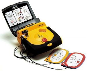 The Lifepak CR Plus workplace Defibrillator