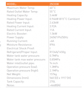 Heat Pump Hot Water 3