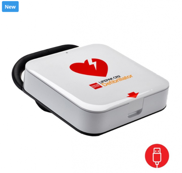 Defibrillator - The new Lifepak CR 2 AED for plumbers 1