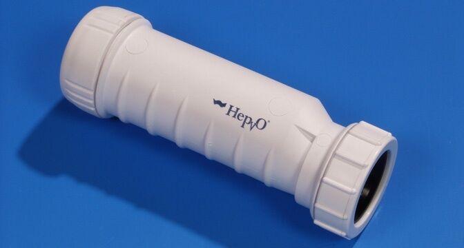 HepVo waterless trap. 1
